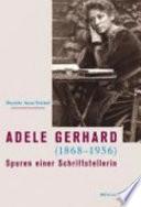 Adele Gerhard  1868 1956