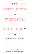 download ebook the merry wives of windsor, etc pdf epub