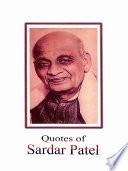 Quotes of Sardar Patel