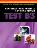Non Structural Analysis And Damage Repair Test B3