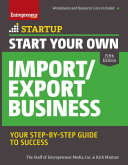 Start Your Own Import Export Business