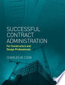 Successful Contract Administration