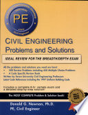 Civil Engineering Problems and Solutions