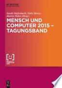 Mensch und Computer 2015 – Tagungsband