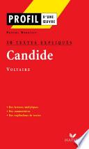Profil   Voltaire   Candide   10 textes expliqu  s