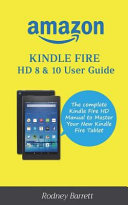 Amazon Kindle Fire Hd 8 10 User Guide