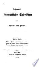Gesammelte dramatische Schriften