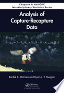 Analysis of Capture Recapture Data