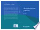 Civil Procedure in Egypt