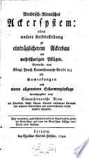 Arndtisch-Riemisches Ackersystem