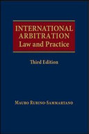 International Arbitration Law and Practice, Third Edition