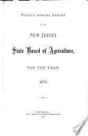 Annual Report of the New Jersey State Board of Agriculture