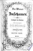 Der Wiener Zuschauer. Zeitschrift für Gebildete, redigirt und herausgegeben von J. S. Ebersberg