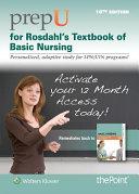 PrepU for Rosdahl s Textbook of Basic Nursing