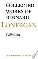 Collected Works of Bernard Lonergan  Collection