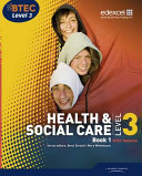Health   Social Care  Btec National Level 3