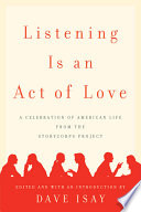 Listening is an Act of Love