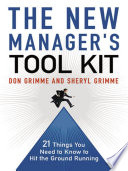 The New Manager s Tool Kit