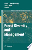 Forest Diversity and Management This Book Reflects The Diversity Of Forest Types