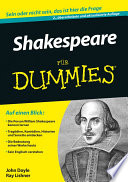 Shakespeare f  r Dummies