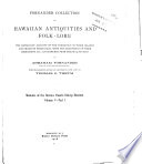 Memoirs of the Bernice Pauahi Bishop Museum of Polynesian Ethnology and Natural History Book PDF