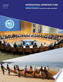 International Monetary Fund Annual Report 2012  Working Together To Support Global Recovery