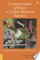 Conservation of Rare or Little Known Species