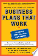 Business Plans that Work  A Guide for Small Business 2 E