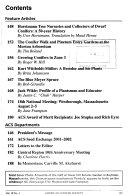 American Conifer Society Bulletin