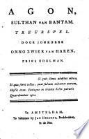 Agon Sulthan Van Bantam