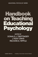 download ebook handbook on teaching educational psychology pdf epub