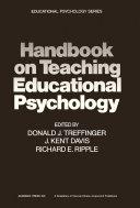 Handbook on Teaching Educational Psychology