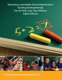 Elementary and Middle School Mathematics  Pearson New International Edition
