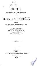 La Su  de sous Charles XIV Jean
