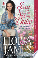 Say No to the Duke Book PDF