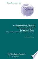 The Availability of Spatial and Environmental Data in the European Union