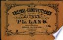 Original Compostitionen f  r Zither