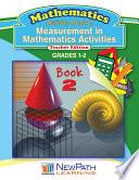 Measurements in Mathematics Activities Workbook Book 2