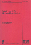 Requirements for Electrical Installations