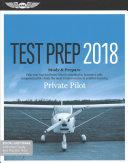 Private Pilot Test Prep 2018