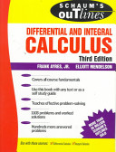 Schaum s Outline of Theory and Problems of Differential and Integral Calculus