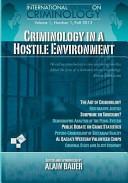 Criminology in a Hostile Environment