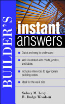 Builder s Instant Answers