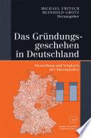 Das Gr  ndungsgeschehen in Deutschland
