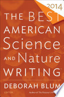 Book The Best American Science and Nature Writing 2014