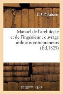 Manuel de L'Architecte Et de L'Ingenieur