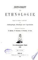 Zeitschrift für Ethnologie