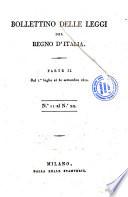 Bollettino delle leggi del Regno d Italia