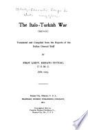 The Italo Turkish War  1911 12