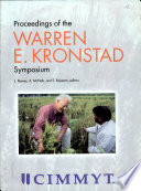 Proceedings of the Warren E  Kronstad Symposium